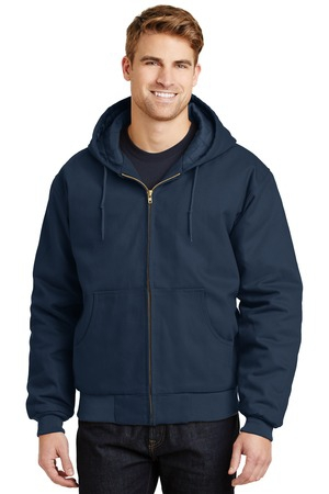 CornerStone  Duck Cloth Hooded Work Jacket.  J763H