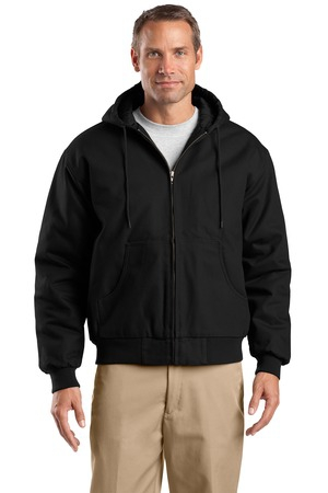 CornerStone Tall Duck Cloth Hooded Work Jacket. TLJ763H