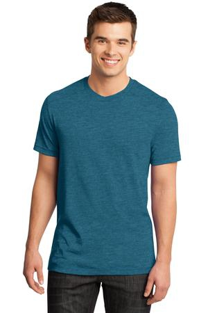 District  Young Mens Gravel 50/50 Notch Crew Tee. DT1400