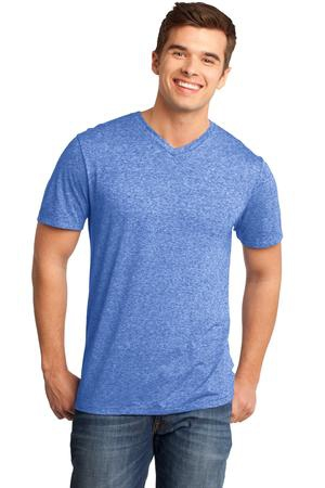 District  Young Mens Microburn VNeck Tee. DT161