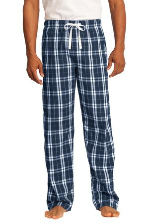 District  Young Mens Flannel Plaid Pant. DT1800