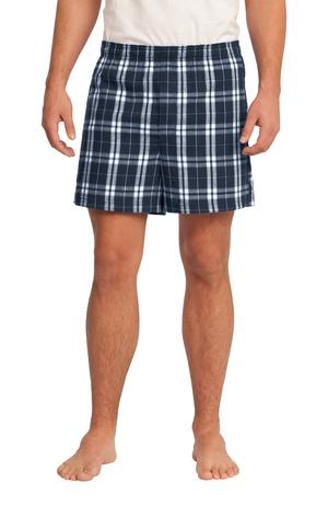District  Young Mens Flannel Plaid Boxer. DT1801
