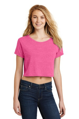 District Juniors Relaxed Crop Tee. DT2303