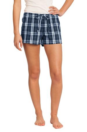 District Juniors Flannel Plaid Boxer. DT2801