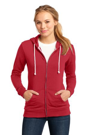 District  Juniors Core Fleece FullZip Hoodie DT290