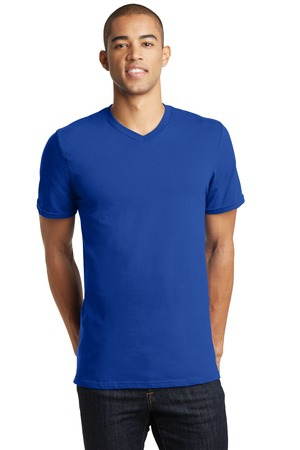 District  Young Mens The Concert Tee VNeck DT5500