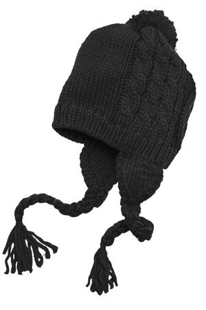 District  Cabled Beanie with Pom DT617