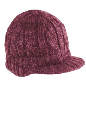 District  Cabled Brimmed Hat. DT628