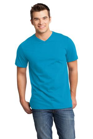 District  Young Mens Very Important Tee VNeck. DT6500