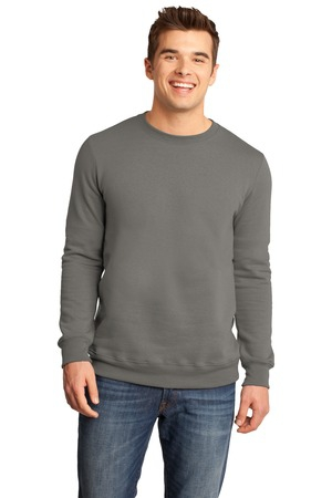 District  Young Mens The Concert Fleece Crew. DT820