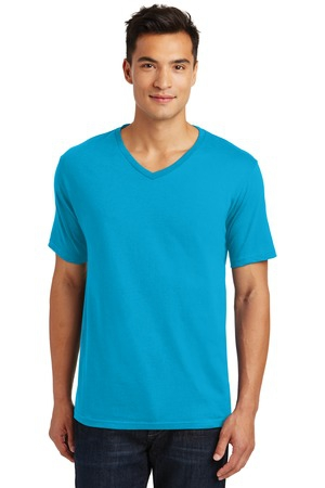 District Made Mens Perfect Weight VNeck Tee. DT1170