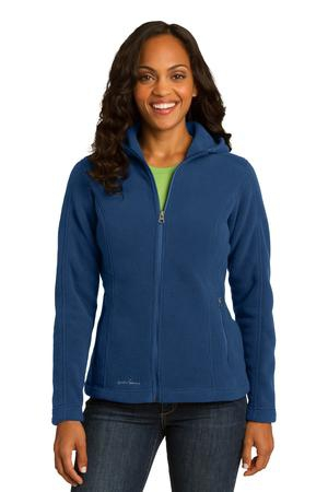 Eddie Bauer Ladies Hooded FullZip Fleece Jacket. EB206