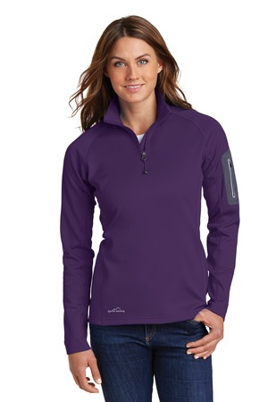 Eddie Bauer Ladies 1/2Zip Performance Fleece Jacket. EB235