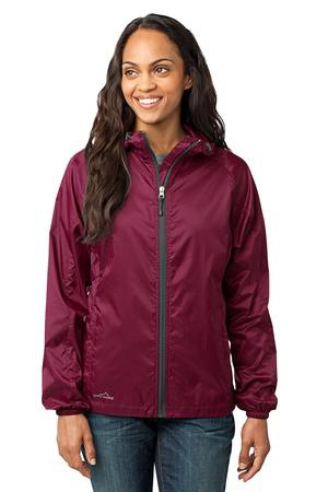 Eddie Bauer  Ladies Packable Wind Jacket. EB501