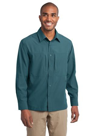 Eddie Bauer  Long Sleeve Performance Travel Shirt. EB604