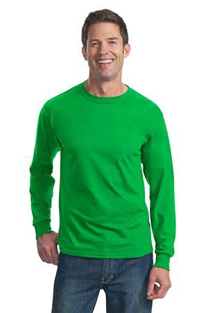 Fruit of the Loom HD Cotton 100% Cotton Long Sleeve TShirt. 4930