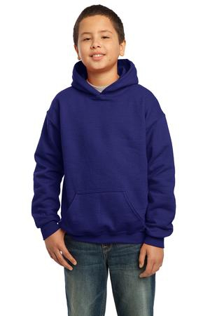 Gildan  Youth Heavy Blend Hooded Sweatshirt. 18500B