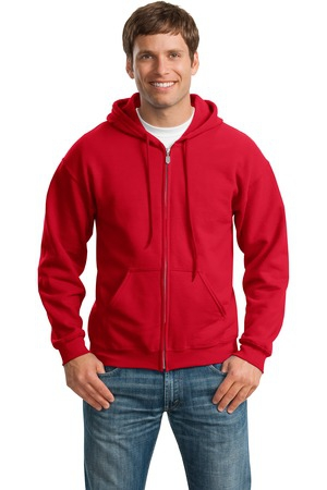Gildan  Heavy Blend FullZip Hooded Sweatshirt. 18600
