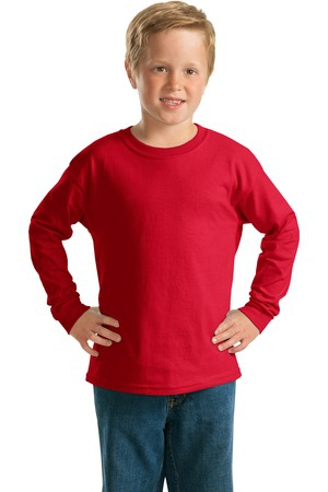 Gildan  Youth Ultra Cotton Long Sleeve TShirt.  2400B