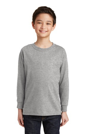 Gildan Youth Heavy Cotton 100% Cotton Long Sleeve TShirt. 5400B