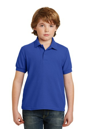 Gildan Youth DryBlend 6.3Ounce Double Pique Sport Shirt. 72800B