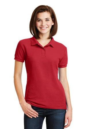 Gildan Ladies DryBlend 6.3Ounce Double Pique Sport Shirt. 72800L