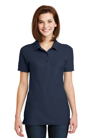 Gildan Ladies 6.5Ounce 100% Double Pique Cotton Sport Shirt. 82800L