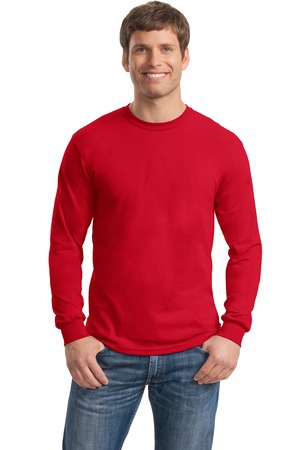 Gildan  DryBlend 50 Cotton/50 Poly Long Sleeve TShirt. 8400