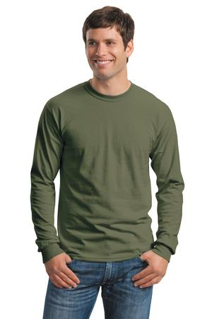 Gildan  Ultra Cotton 100% Cotton Long Sleeve TShirt.  G2400