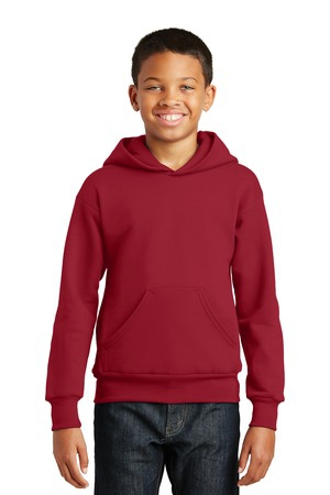 Hanes  Youth EcoSmart Pullover Hooded Sweatshirt.  P470