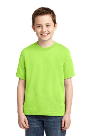 JERZEES  Youth DriPower Active 50/50 Cotton/Poly TShirt.  29B