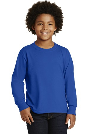 JERZEES Youth DriPower  Active 50/50 Cotton/Poly Long Sleeve TShirt. 29BL