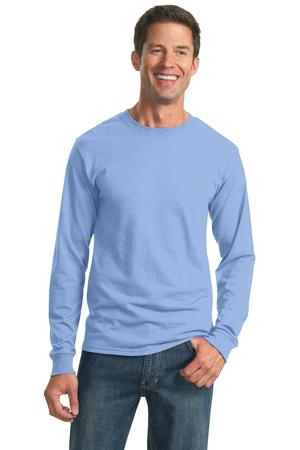 JERZEES  DriPower Active 50/50 Cotton/Poly Long Sleeve TShirt.  29LS