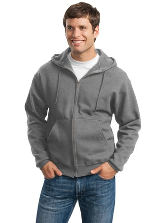JERZEES Super Sweats  FullZip Hooded Sweatshirt.  4999M