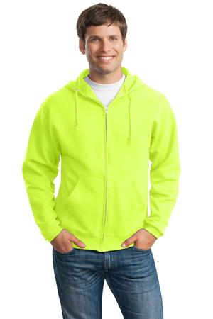 JERZEES  NuBlend FullZip Hooded Sweatshirt.  993M