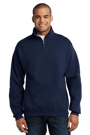 JERZEES  NuBlend; 1/4Zip Cadet Collar Sweatshirt. 995M