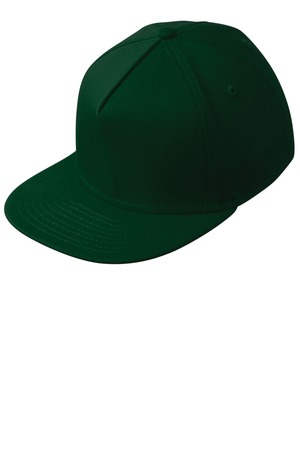 New Era Flat Bill Stretch Cap. NE401