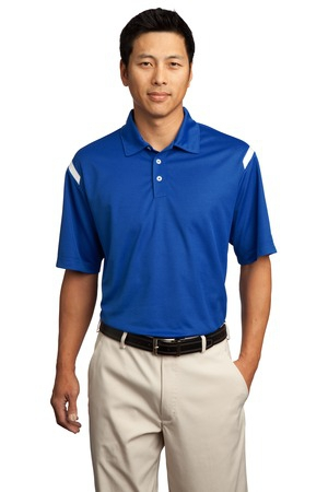 Nike Golf  DriFIT Shoulder Stripe Polo. 402394