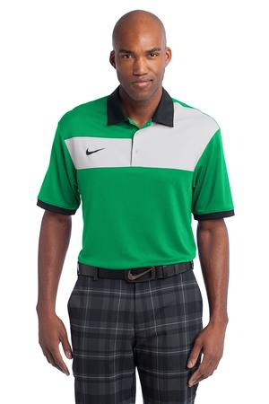 Nike Golf DriFIT Sport Colorblock Polo. 527806
