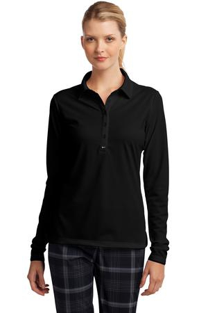 Nike Golf Ladies Long Sleeve DriFIT Stretch Tech Polo. 545322