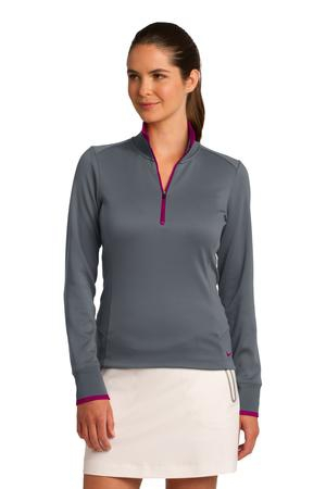 Nike Golf Ladies DriFIT 1/2Zip CoverUp. 578674