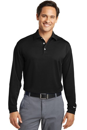Nike Golf Tall Long Sleeve DriFIT Stretch Tech Polo. 604940