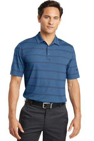 Nike Golf DriFIT Fade Stripe Polo. 677786