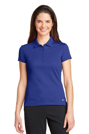 Nike Golf Ladies DriFIT Solid Icon Pique Modern Fit Polo.  746100