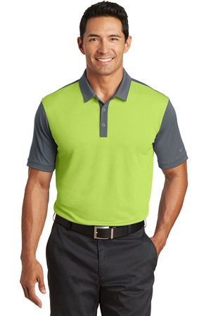 Nike Golf DriFIT Colorblock Icon Modern Fit Polo.  746101