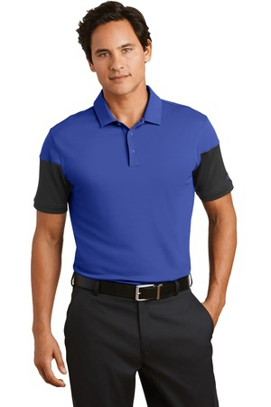 Nike Golf DriFIT Sleeve Colorblock Modern Fit Polo. 779802