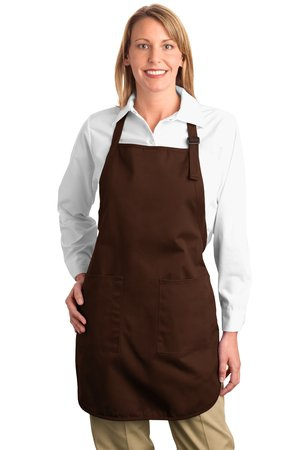 Port Authority FullLength Apron with Pockets.  A500