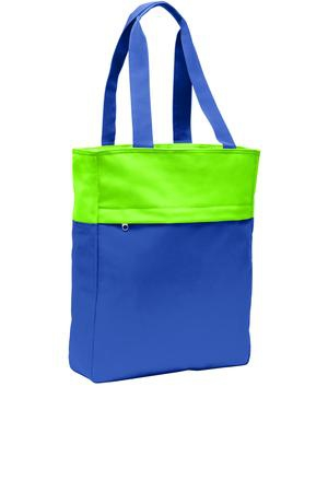 Port Authority Colorblock Tote. BG404
