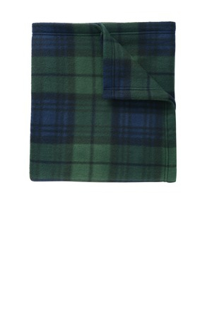 Port Authority Core Printed Fleece Blanket. BP61