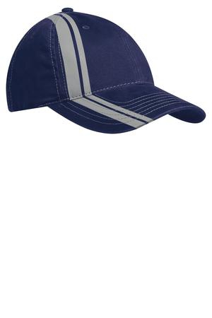 Port Authority Double Stripe Cap. C825